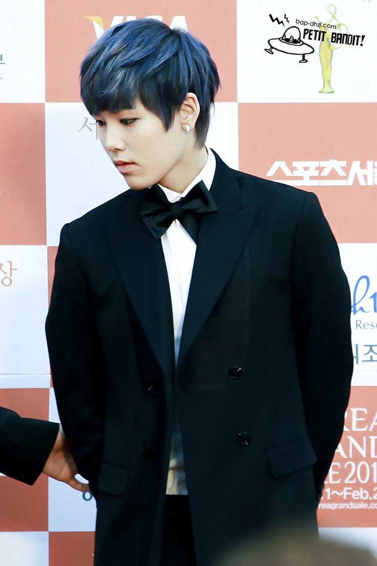 B.A.P Zelo. Love that hair, and that look on his face so sullen and graceful