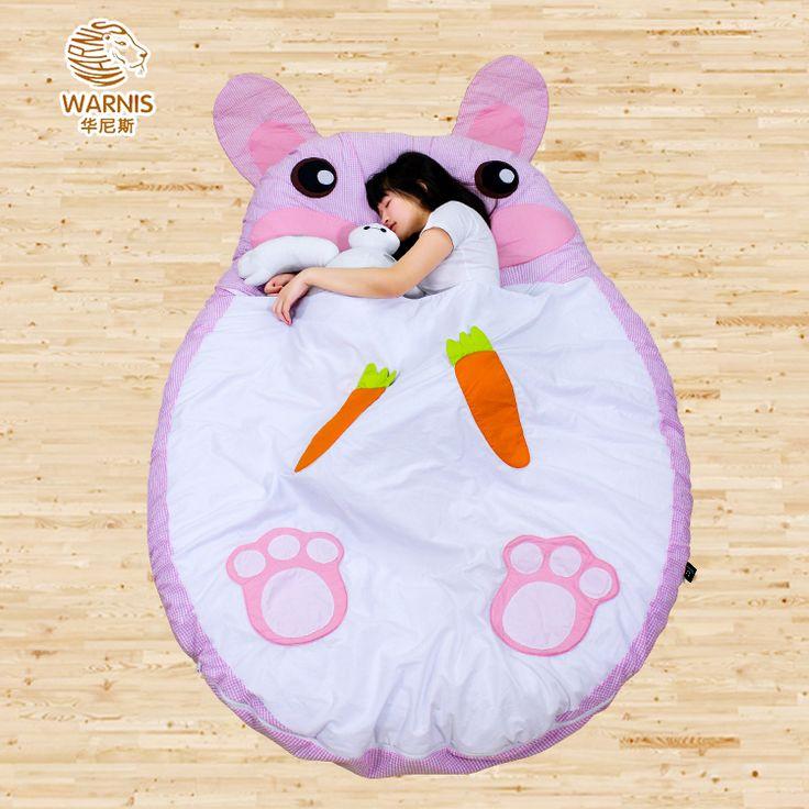 1.9 M * 1.6 M Futon Tatami sofá macio cama colchão de dormir coelho portátil tapete grandes presentes(China (Mainland))