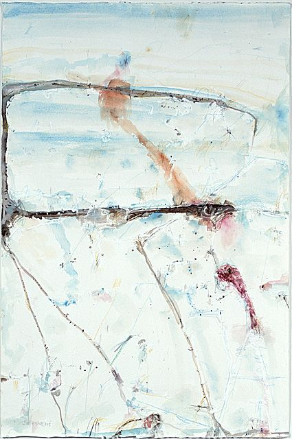 Lake Eyre Salt Crust | John Olsen 2004