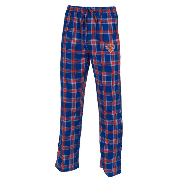New York Knicks - Logo Plaid Lounge Pants