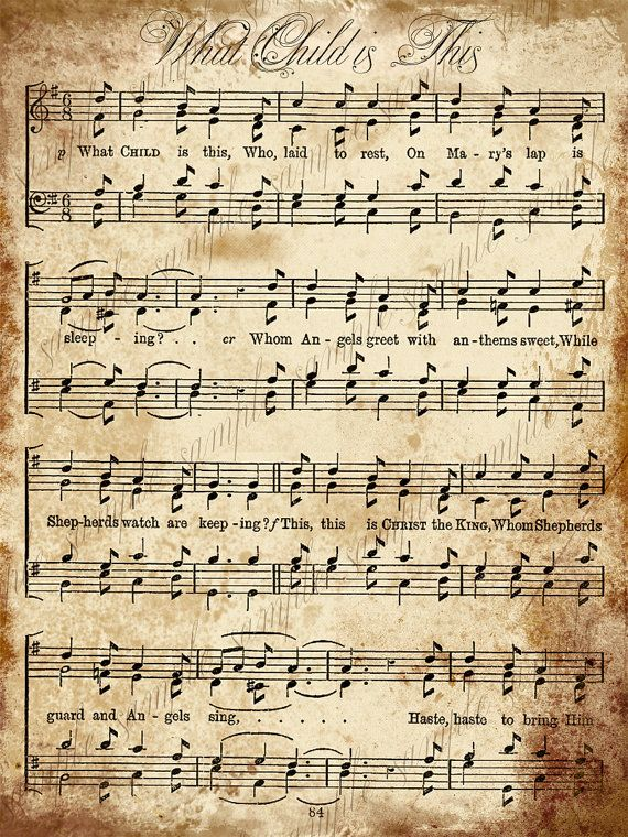 Printable Christmas Carols