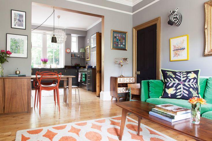 La casa che non teme i colori e la nostalgia
