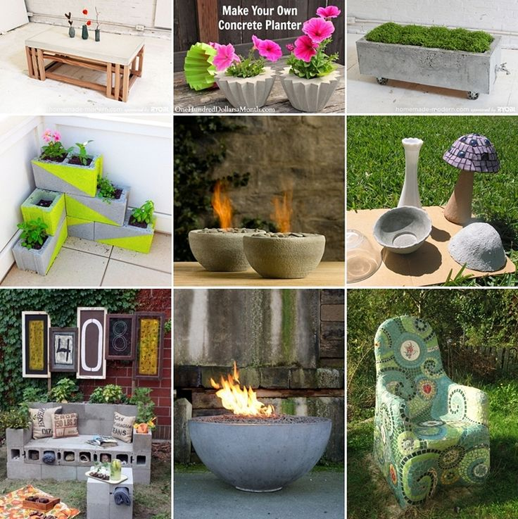 Best Concrete Blocks Ideas On Pinterest Decorative Concrete - Awesome home projects created from concrete cinder blocks