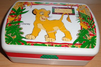 MDC: The Lion King lunchbox