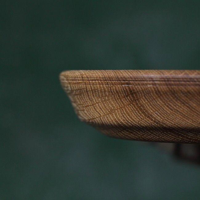 SUNSUBIRO V, Oak Wooden Bowl made by Loved Things | Un frumos castron din lemn masiv de stejar, unicat, handmade, un produs creatie Loved Things