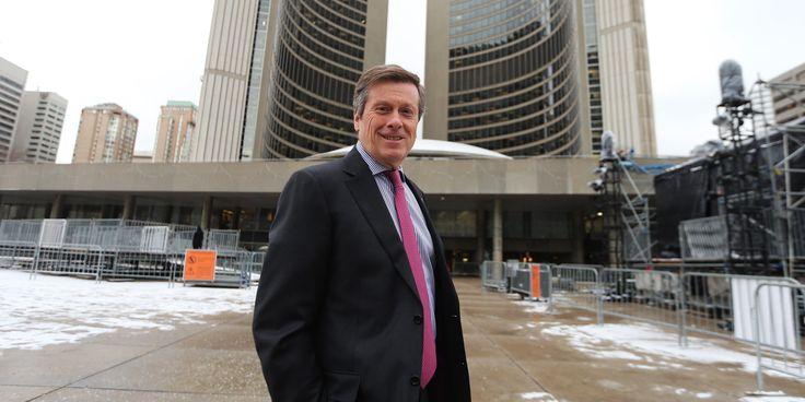 Mayor John at City Hall
