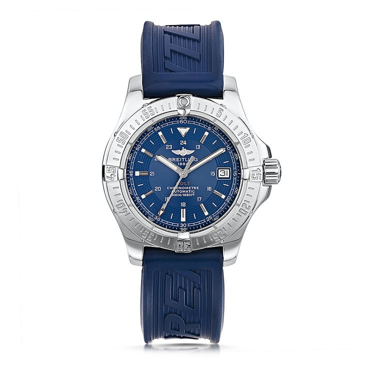 For Father's Day! Pre Owned Breitling Colt Automatic Blue Dial Watch #Breitling #BreitlingWatch #FathersDay #Gift #LaingsGlasgow