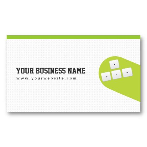 20 best video game business cards images on pinterest card flying arrow keys game programmer business card reheart Choice Image