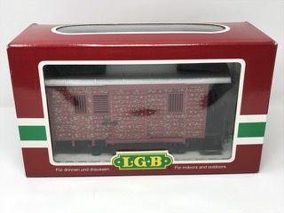 LEHMANN-GROSS-BAHN LGB 34190 CHRISTMAS CABOOSE GIFT CAR WITH BOX.