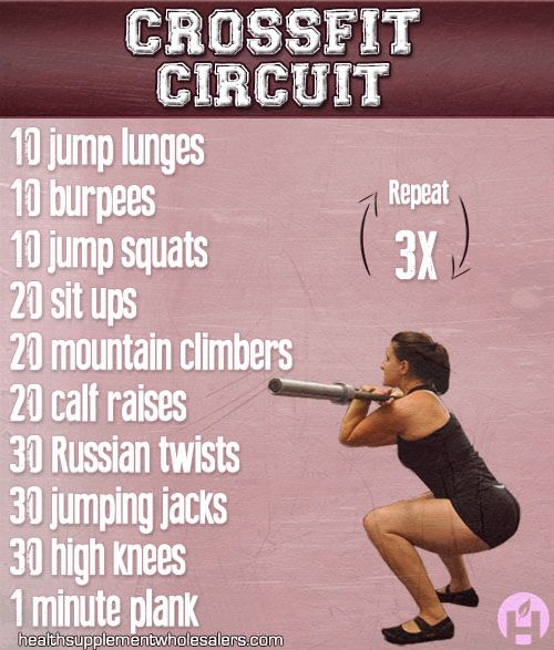 Make every exercise 50 seconds of work, 10 seconds of rest, and repeat twice...great 20 minute workout!