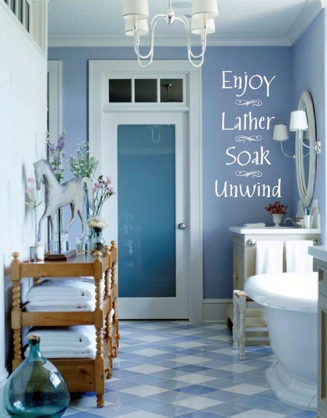 bathroom color & decor ideas