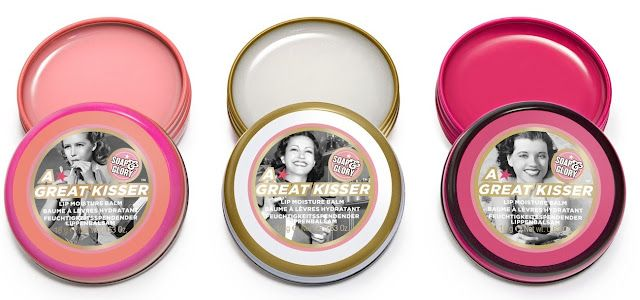 Soap and Glory: A Great Kisser Lip Balm. My absolute favorite lip balms!
