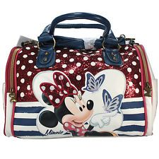 disney minnie mouse sac a main pour femme sac messenger blanc sac bandouliere be
