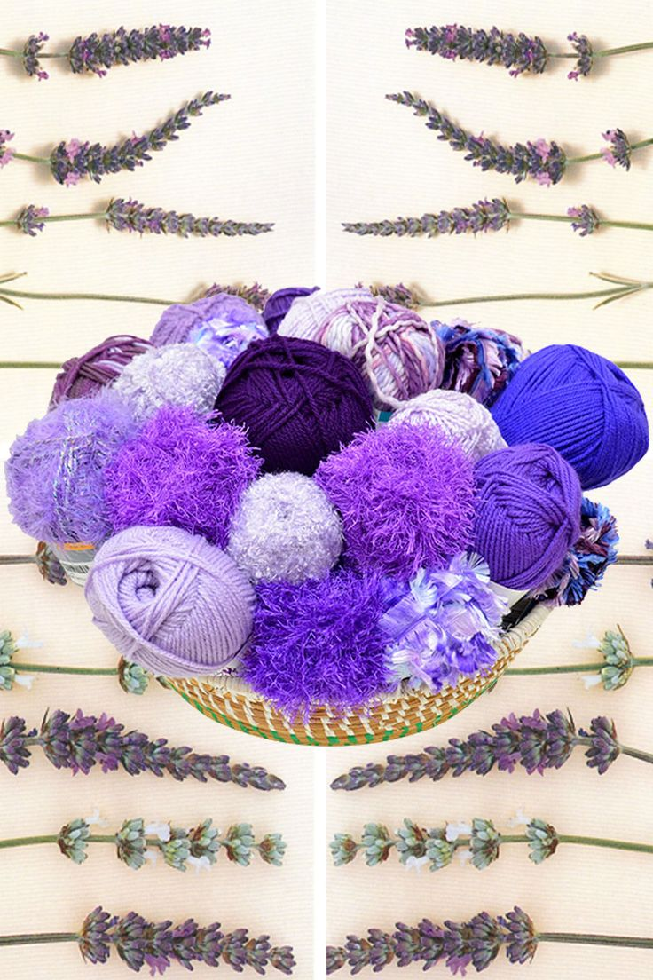 Lavender blanket kit available from www.wooljunction.co.za