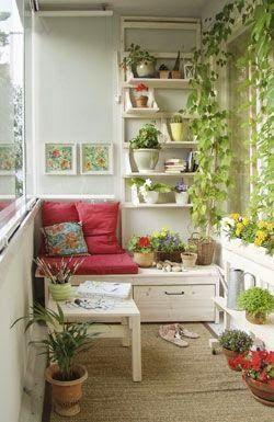 Decor   72 Ideias para decorar varandas