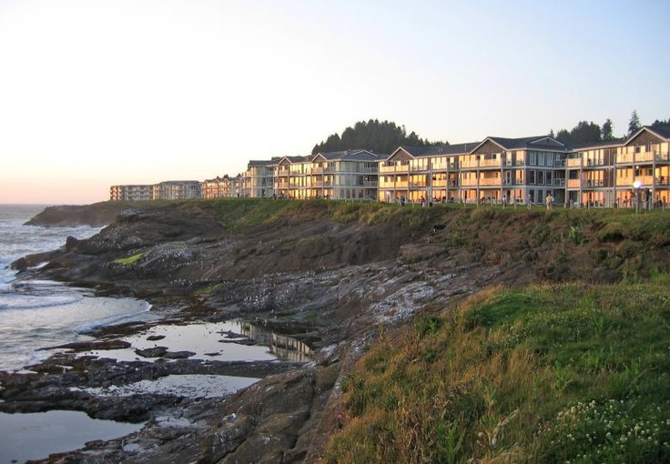 Depot Bay, Oregon - We stayed in these condos on one of my favorite family vacations. We did devotions on the balcony while watching whales swim by in the ocean. Peaceful!