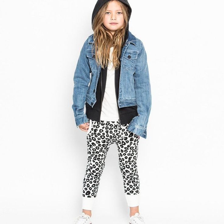 Missie Munster Ripple Pant in Black & White