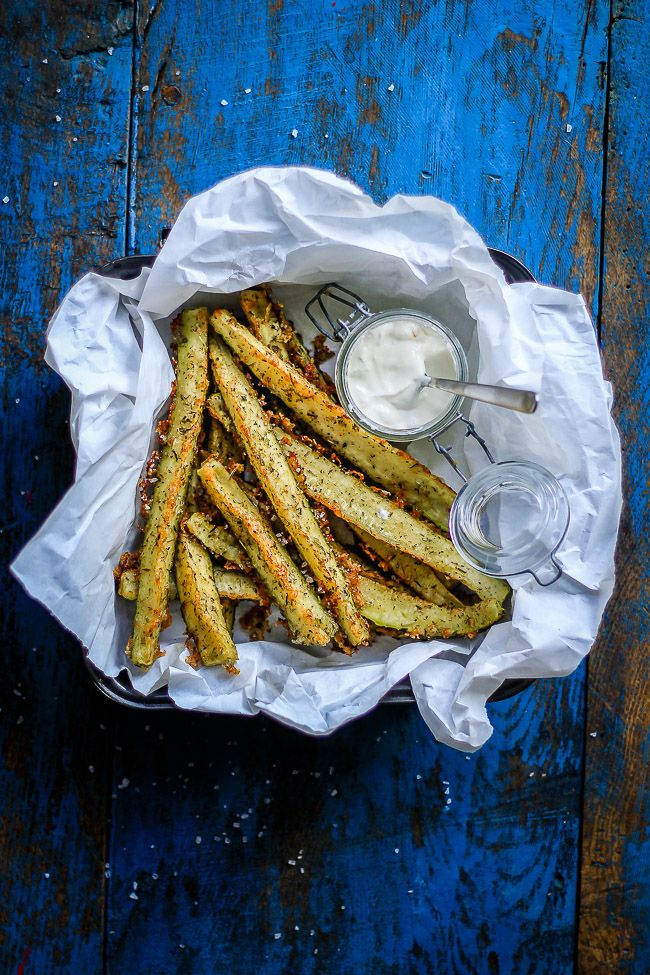 Squash Fries with Parmesan