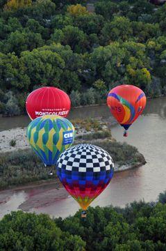 The Albuquerque International Balloon Fiesta -