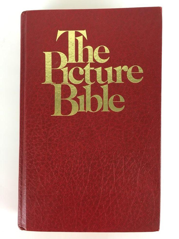 The Picture Bible 1978 David C Cook Chariot Books Comics Youth Junior Jr MI377