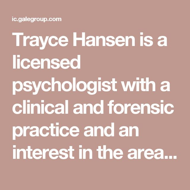 Trayce Hansen is a licensed psychologist with a clinical and forensic practice and an interest in the areas of marriage, parenting, male/female differences, and homosexuality.  Supporters of same-sex marriage think that children really just need love, but this is not the case. Research shows that the ideal family structure for children is to be raised by both a mother and a father. Only this traditional type of family gives children the chance to relate to both a same-sex parent and a parent…