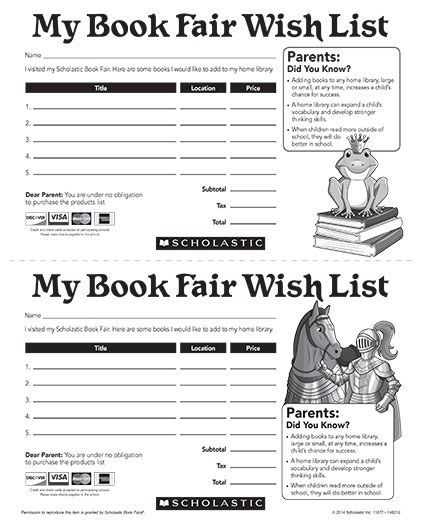 Scholastic Book Fairs Chairperson's Toolkit