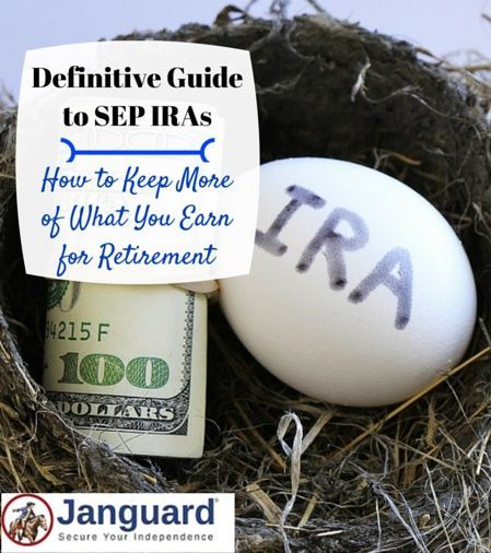 The complete guide to SEP IRAs and #retirement planning. SEP individual retirement accounts (IRA) are a great alternative to a 401k for self-employed individuals.