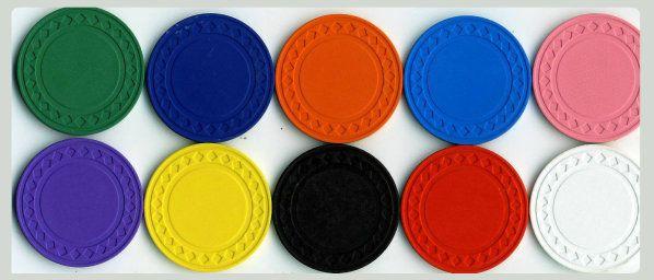 #Chips som går längre än hundra dollar i valör har varierat färger, kasinon får välja de marker färgerna trots allt. #spelacasinoonline