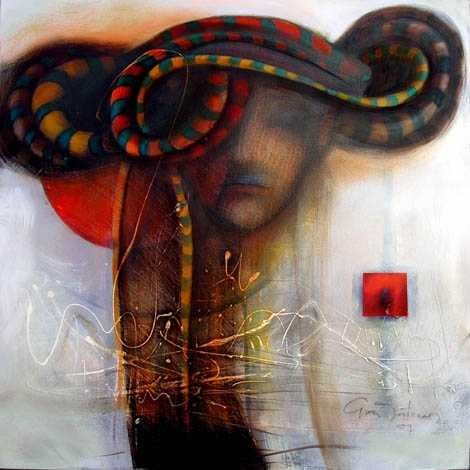 Paintings by Gina Intveen