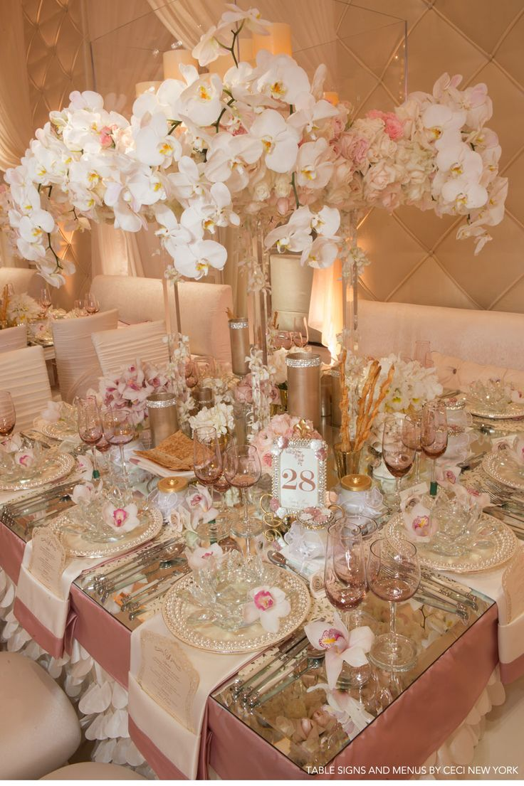 Coordinated by International Event Company / Flowers by Mark's Garden / Event Design by Matias Doorn and Edgar Zamora of Revelry Event Designers / Photographers Simone & Martin Photography, John Solano Photography, Duke Photography