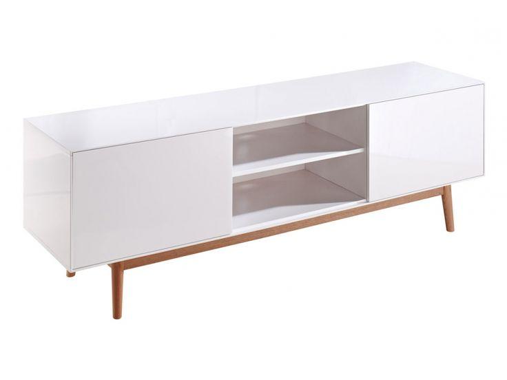 TV Lowboard Weiß, Glas + Massivholz. Wir Bieten Eine Große Auswahl Schnell  Lieferbarer Hifi + TV Möbel In Vielen Designs U0026 Materialien Zu Günstigen  Preisen.