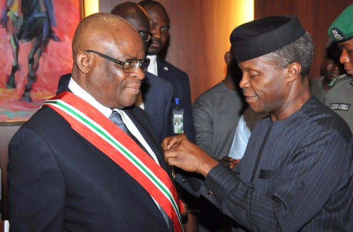 Justice Onnoghen Sworn-in as the New CJN
