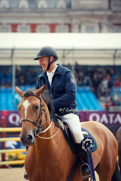Roger Yves Bost, French showjumper.