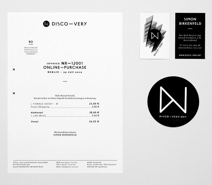 Eps51 graphic design studio / Corporate identity for DISCO—VERY