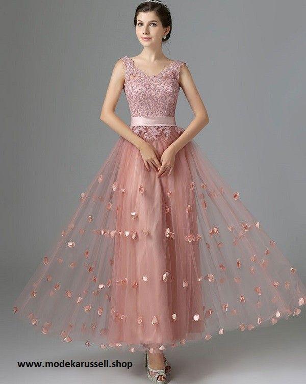 Abendkleid 2019 Reintraud in Lachs | Spitzen abendkleider ...