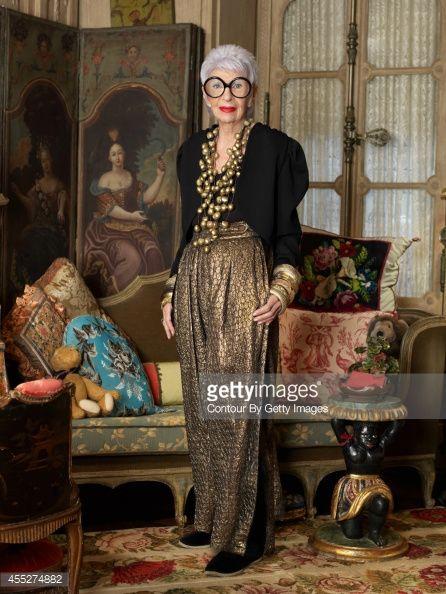 Iris Apfel, Avenue Magazine, April 2014 | Getty Images