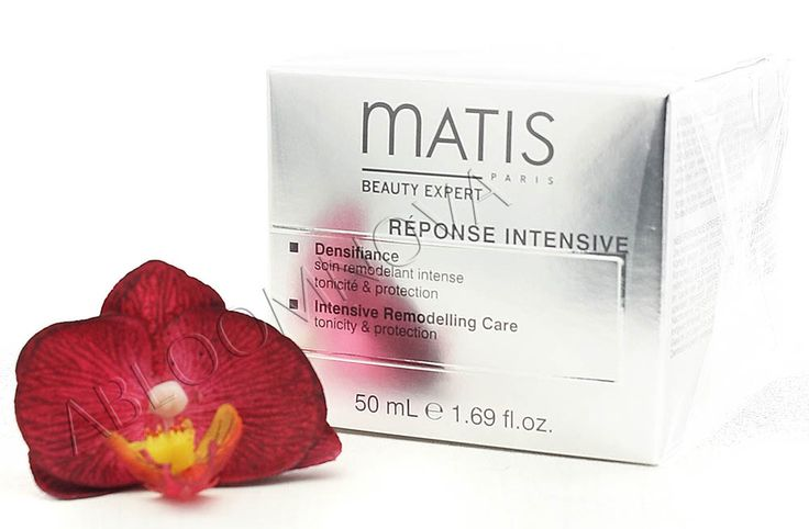 Used daily, Matis Densifiance Intensive Remodeling Care will reshape the facial contours and improve skin tone, density and texture. #Matis #skincare #allskintypes #facecream #lifting #antiaging