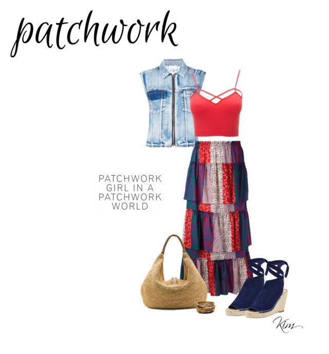 """Patchwork"" by ksims-1 ❤ liked on Polyvore featuring 3.1 Phillip Lim, Sonia Rykiel, Charlotte Russe, Loeffler Randall, Flora Bella, Amrita Singh and plus size clothing"