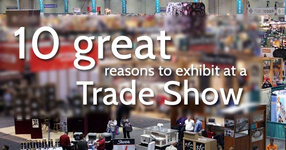 If you need convincing of the value a trade show can offer, then check out this article.