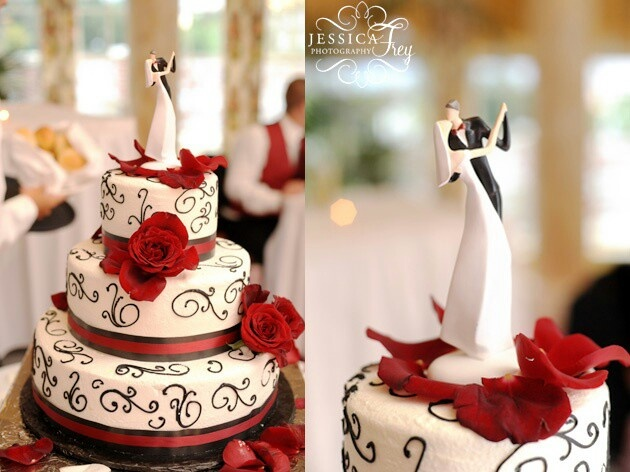 Image Detail For Red And Black Wedding Cake Matt Jennys Part 2 Bakersfield