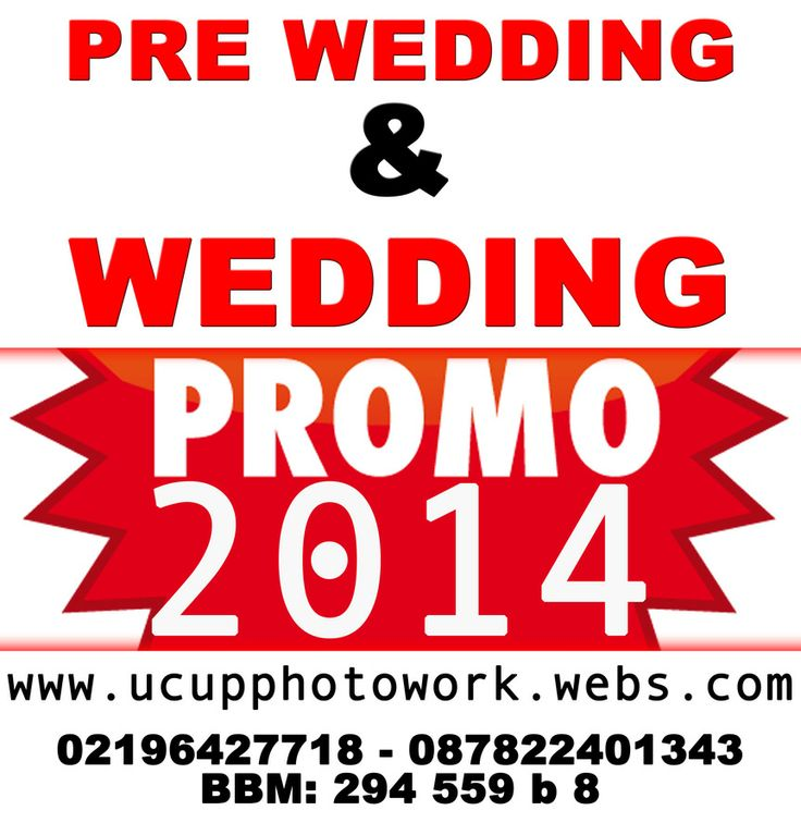 #promo #wedding #prewedding #2014 #jasa #foto #video #jakarta