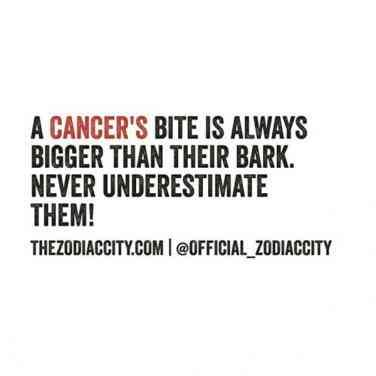 Who doesn't love a Cancer?♠《Follow Me For More Poppin Pins  @NevaeeeehBadass》♠