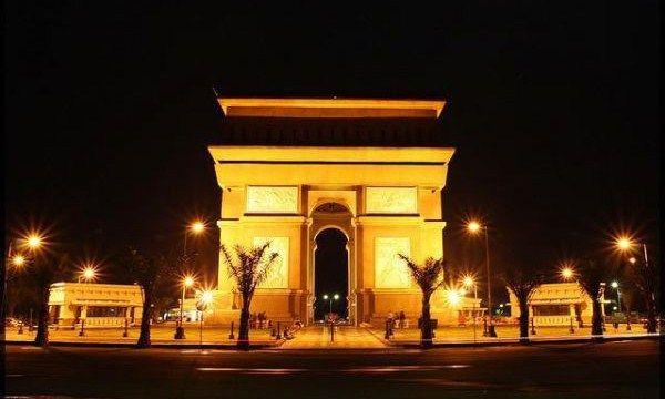 Arc de Trimphe di Paris? Bukan juga, ini di Kediri.