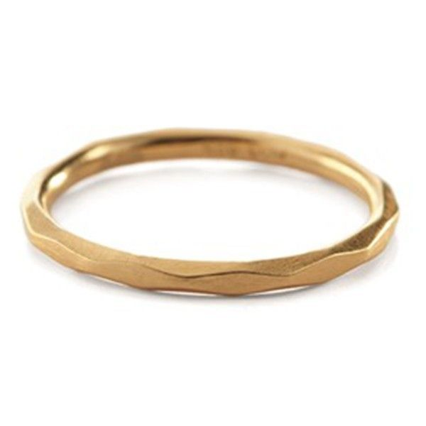 Pernille Corydon large facet ring - guld - Smykker - Accessories - Mode