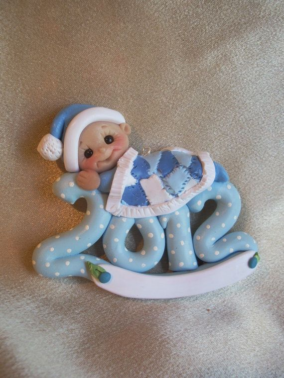 Christmas Ornaments For Baby Shower Favors : Baby infant christmas ornament child toddler