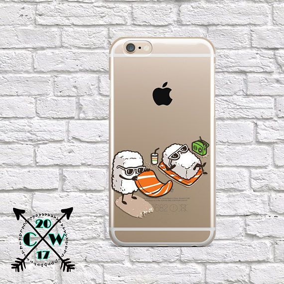Google Pixel Sushi case Cute Samsung S8 Plus case Funny iPhone