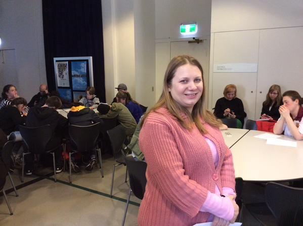 2015 Melbourne Writers Festival, Amra Pajalic delivering workshops on Identity and Belonging at Immigration Museum