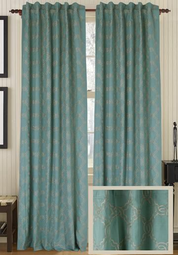 Jensen Curtain Panel - Draperies & Tiebacks - Window Treatments - Linens & Fabrics | HomeDecorators.com