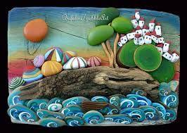Resultado de imagen para michela bufalini pebble art
