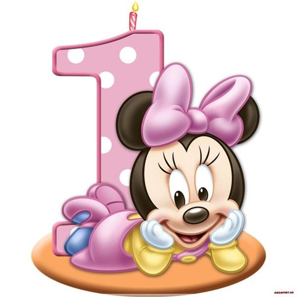 Carte Anniversaire 1 An Fille Yutilis Carte Anniversaire Decoration Anniversaire Mickey Fete Theme Minnie Mouse